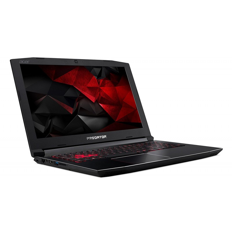 "Acer Predator Helios 300 Gaming Laptop, i7 CPU, GeForce GTX 1060 6GB, VR Ready, 15.6"" Full HD, 16GB DDR4, 256GB SSD & Acer Windows Mixed Reality Headset and 2 Wireless Controllers Bundle"
