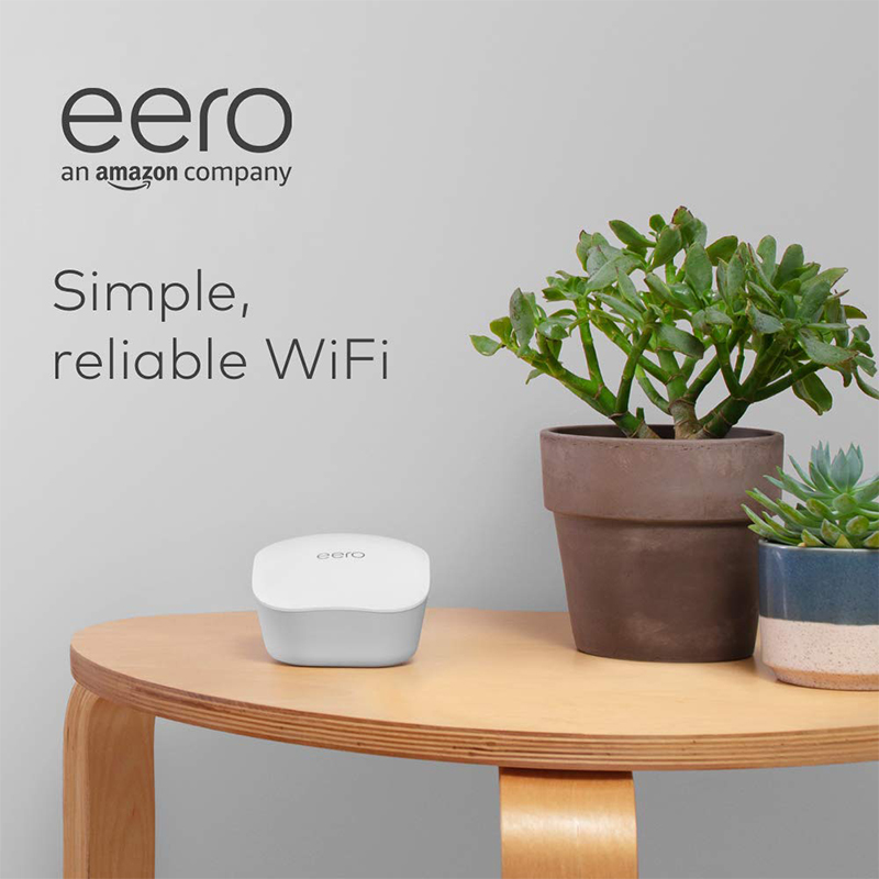 Amazon eero mesh WiFi - 2 pack 无线路...